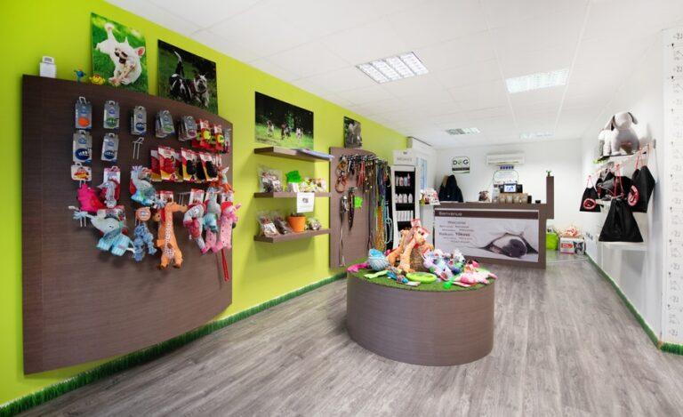 Aménagement bureaux Dog Hotel boutique