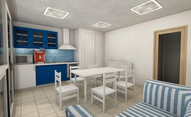 Aménagement bureaux Lubin plan intérieur