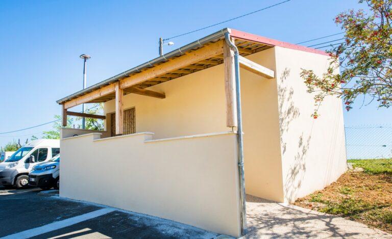 Construction bâtiment Chantaloup extérieur