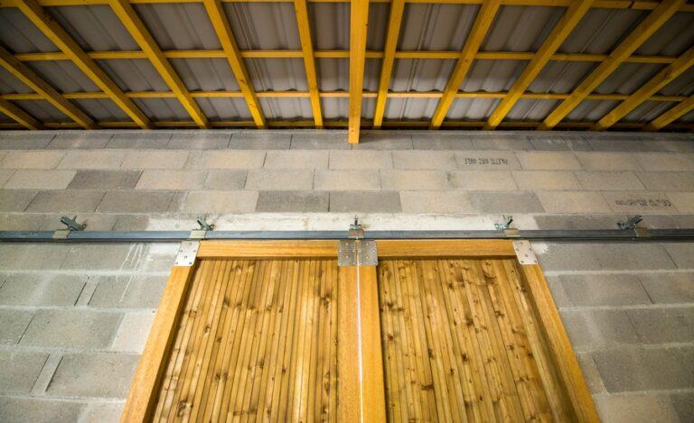 Construction bâtiment Chantaloup porte coulissante