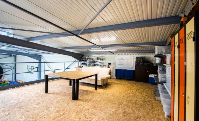 Construction neuve hangar neto haut