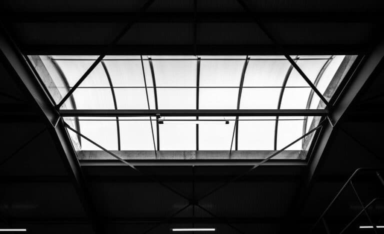 Construction neuve hangar neto verrière