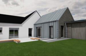 Extension maison ASCHERES