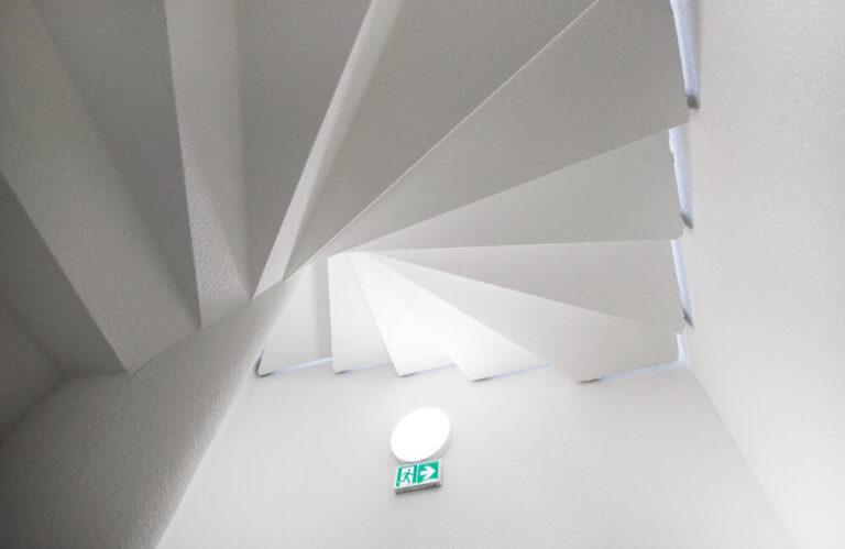 Logement neuf immeuble Pasteur orléans toit escalier